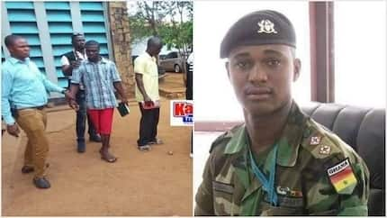 Major Mahama 'killers' appear in court with Holy Bibles, singing praises to God