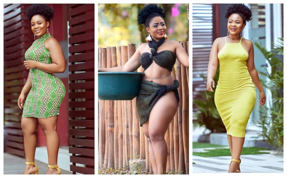 I don't mind giving birth before getting married - Kisa Gbekle makes bold statement in video