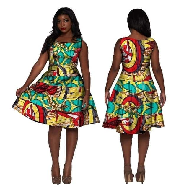 Designs of African dresses