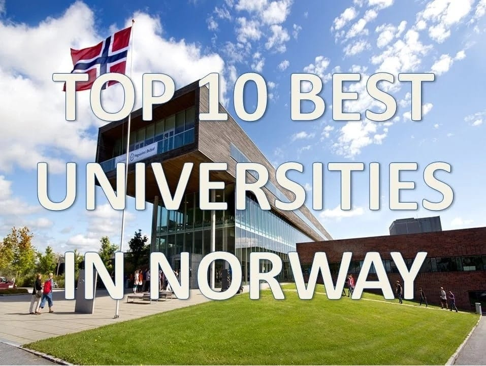 universities in norway for masters list of universities in norway free college in norway