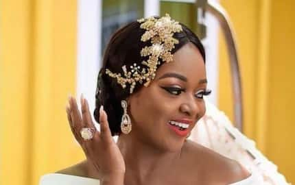 Jackie Appiah flaunts her fashionable father on social media and fans can't stop admiring him
