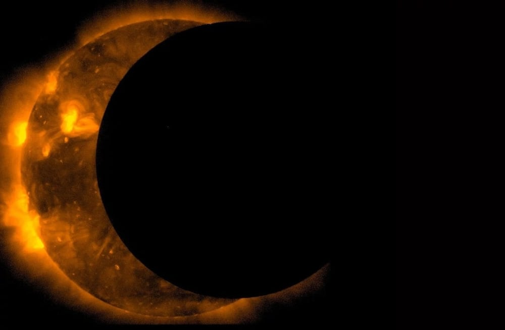 Throwback video from 2006 showing how Ghanaians watched solar eclipse drops