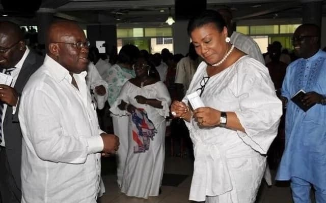 7 photos of Akufo-Addo and Rebecca that prove love is a beautiful thing