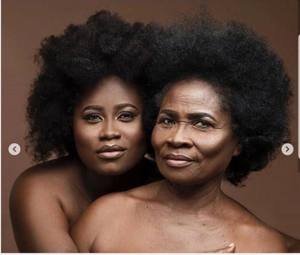 Lydia Forson and mom