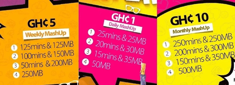 MTN mashup code, activation, bundles, and offers in Ghana