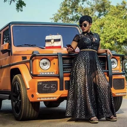 Your Friday just got classed up with stunning and Classy Nana Ama Mcbrown