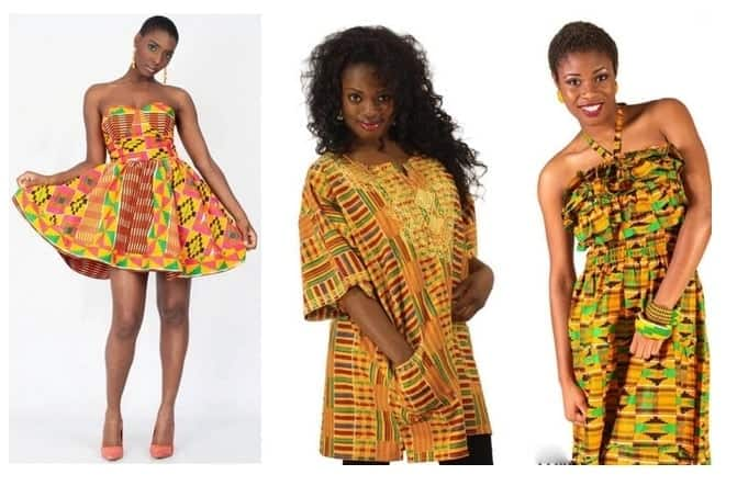 African dresses with modern influence