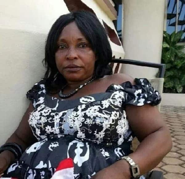 Kyeiwaa seated in a chair