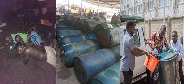 17 arrested by National Security in oil smuggling scheme