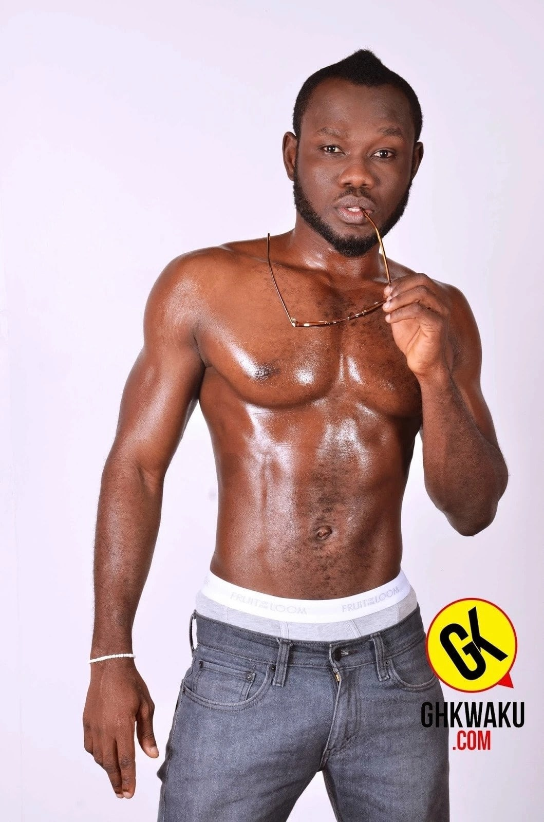Photos of Ghanaian celebrities with six-packs