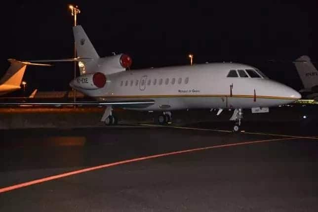 Akufo-Addo's jet is one of the most expensive in Africa