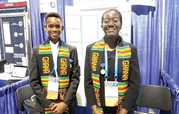 Two Ghanaian students win top UN award