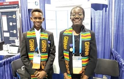 Meet the two Ghanaian students who have just won top UN award in the US