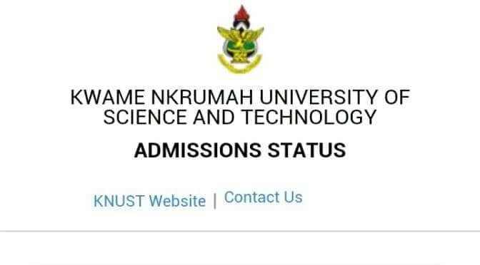 ug admission list 2018/19 knust graduate admissions 2018 idl knust admission list