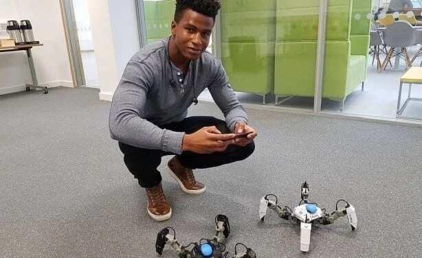 26-year-old Nigerian becomes world's highest paid robotics engineer