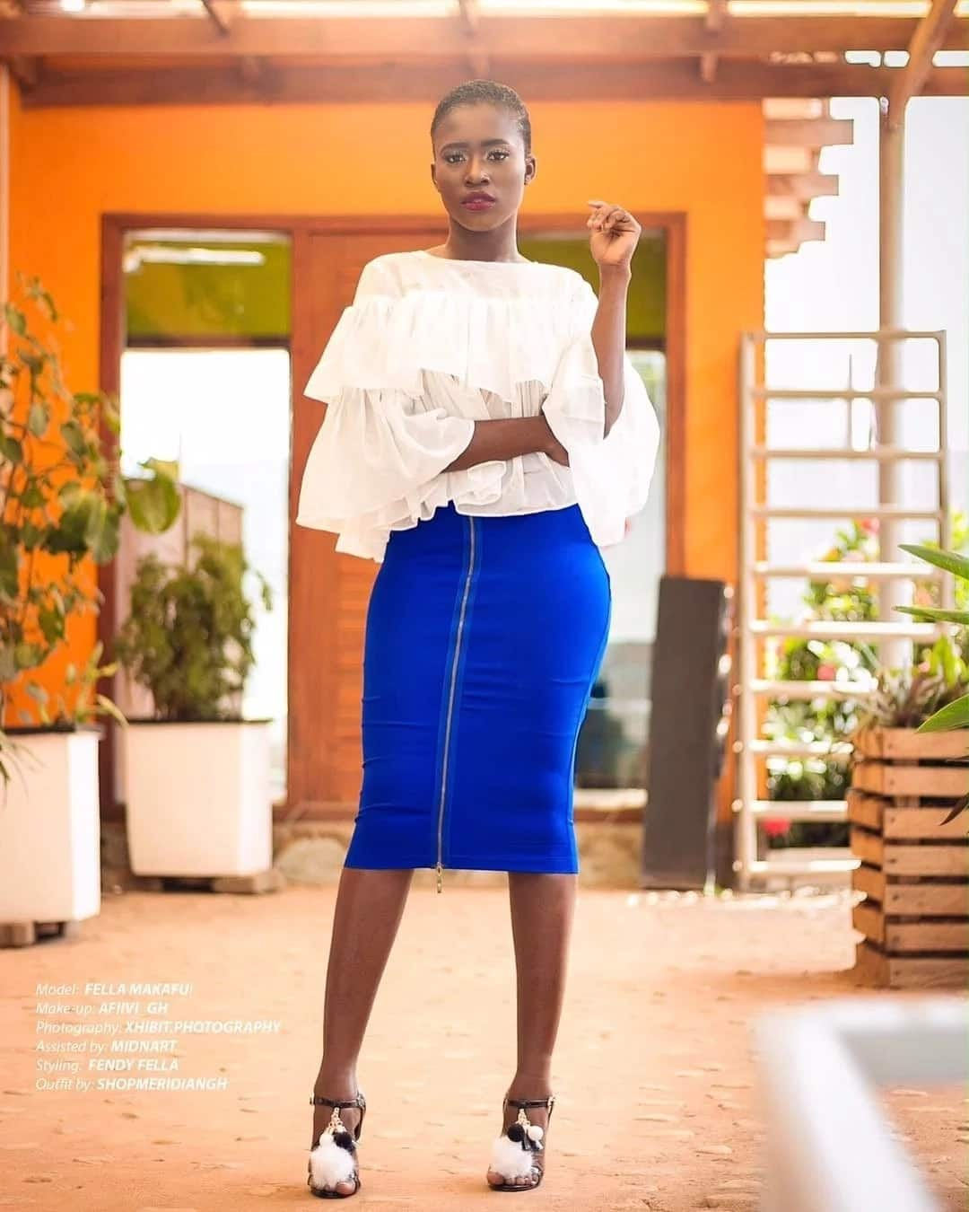 Fella Makafui sends heads spinning on the internet with her twerking video