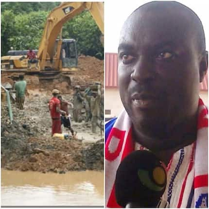 I've spent GH¢million in fighting galamsey - Manso-Nkwanta MP calls for applause
