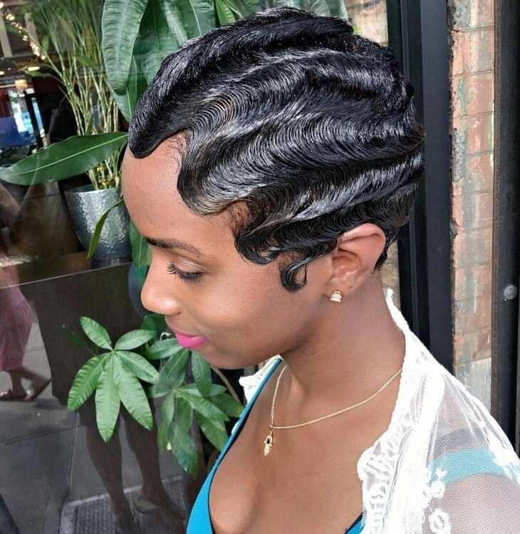 Best finger waves hairstyles in Ghana ▷ YEN.COM.GH