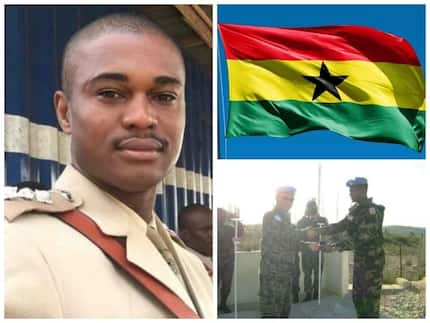 VIDEO: Horrifically lynched army captain's remains flown to 37 Military Hospital, Accra