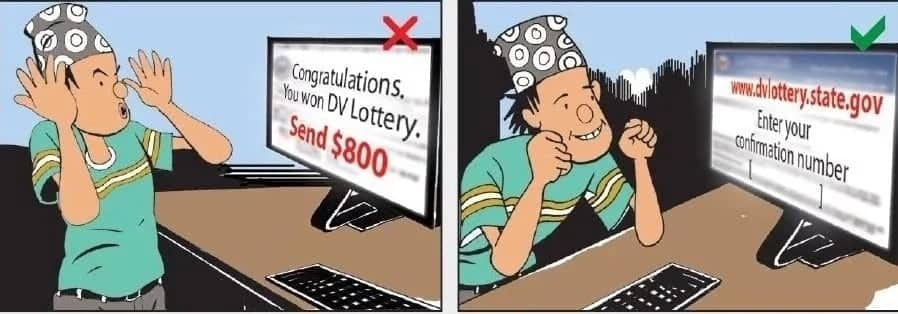 DV lottery 2018 results- How to avoid scams