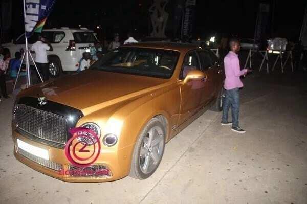 """Zylofon Media boss drives 'Golden Bentley' to Becca's """"Unveiled"""" concert"""