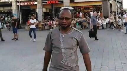 Video of Ghanaian pastor preaching on the streets of Germany goes viral and social media users are angry
