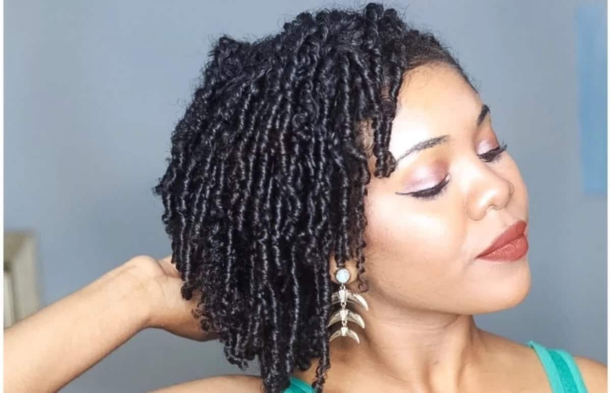 Short natural hairstyles African natural hairstyles Twist hairstyles for short natural hair