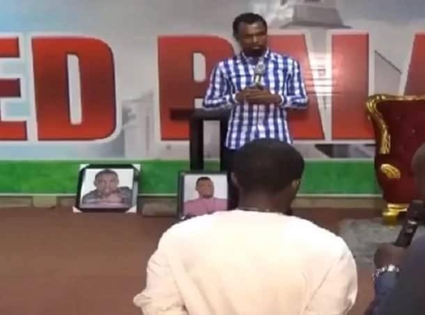 Gay man presents himself for deliverance from Pastor Obofour