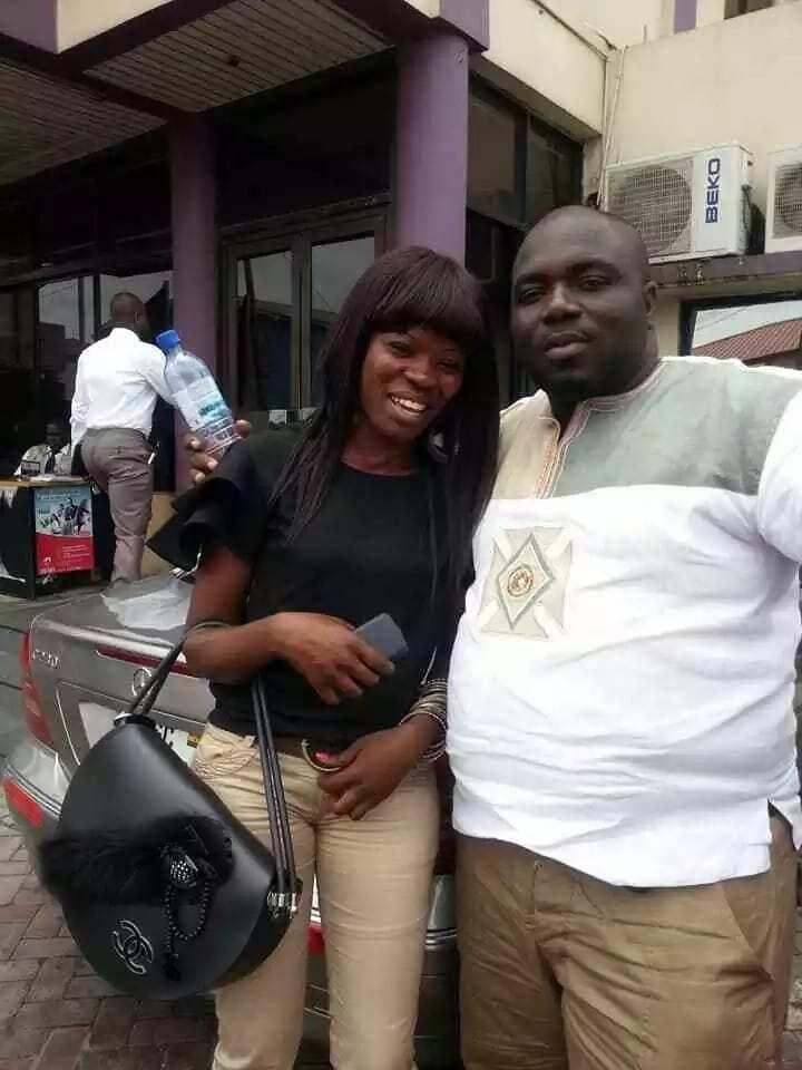 Ohemaa Woyeje with KABA