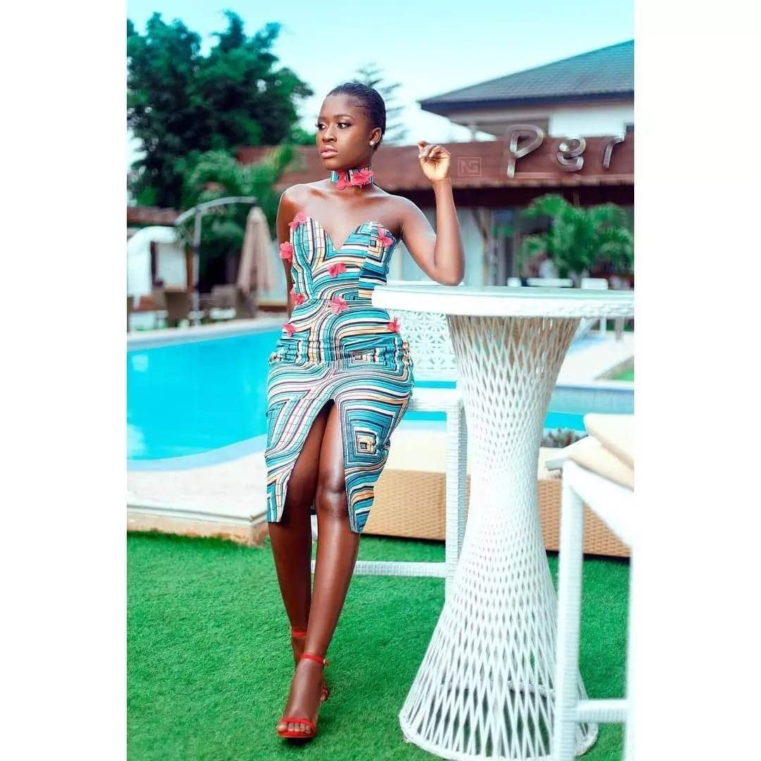 9 wild and rare photos of Fela Makafui that Ghanaians are dying for online