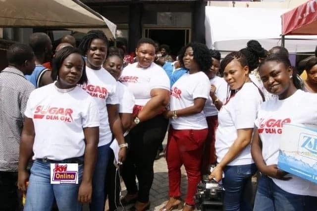 Sugardem Gh prepares free feast for men on Valentine's Day