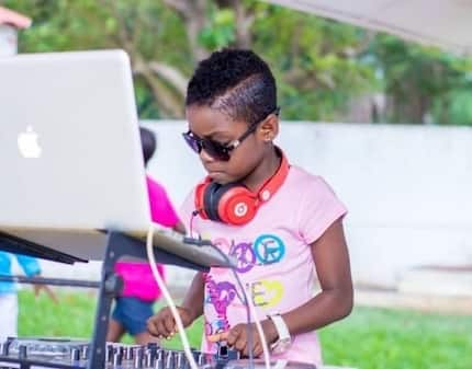 Ghana's youngest DJ has revealed her dream job and it has nothing to do with music
