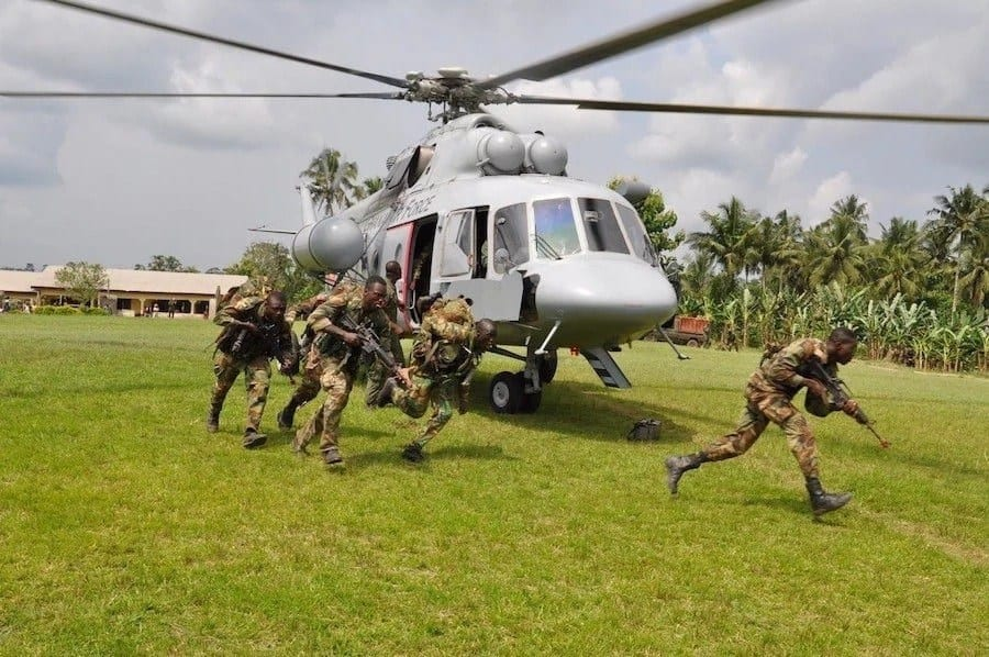Ghana Armed Forces opens 2017/2018 recruitment