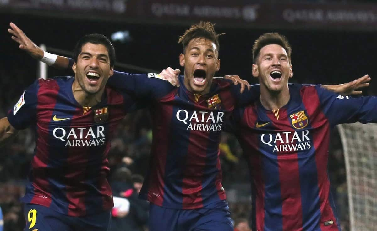 Messi says he has no rivalry with Neymar and Suarez