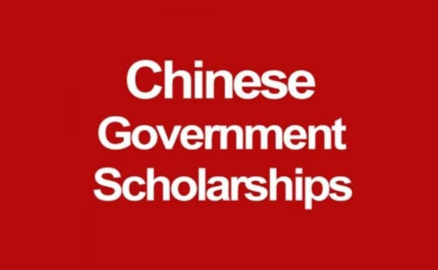 Chinese government scholarship online application deadline