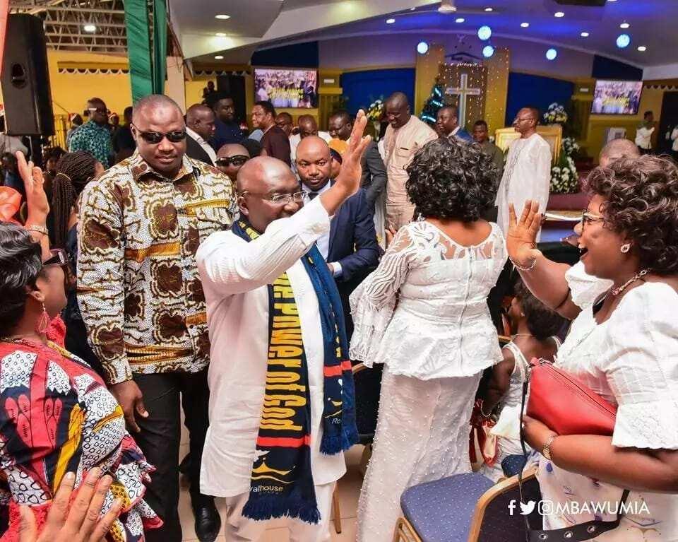 Congregation meets Bawumia