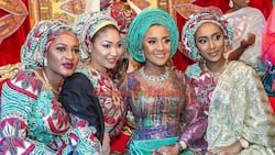 All the photos you missed from the marriage ceremony of daughter of Africa's richest man, Dangote