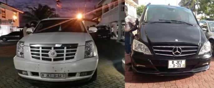 Photos: Check out Asamoah Gyan's cars and mansion