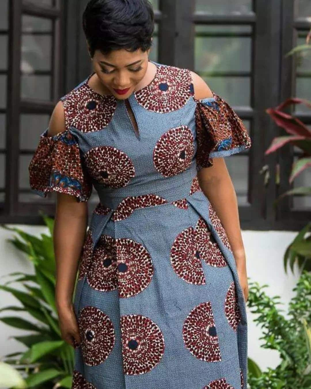 african print maxi dress styles yengh