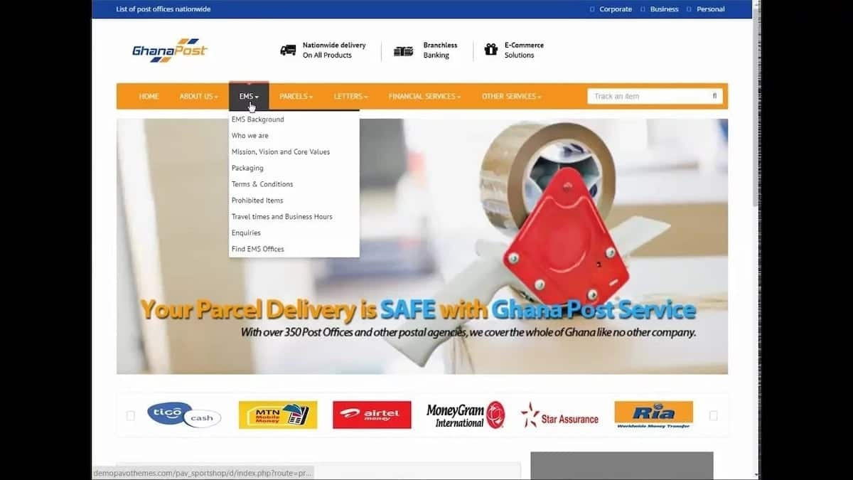 Ghana post tracking: How to track your parcel