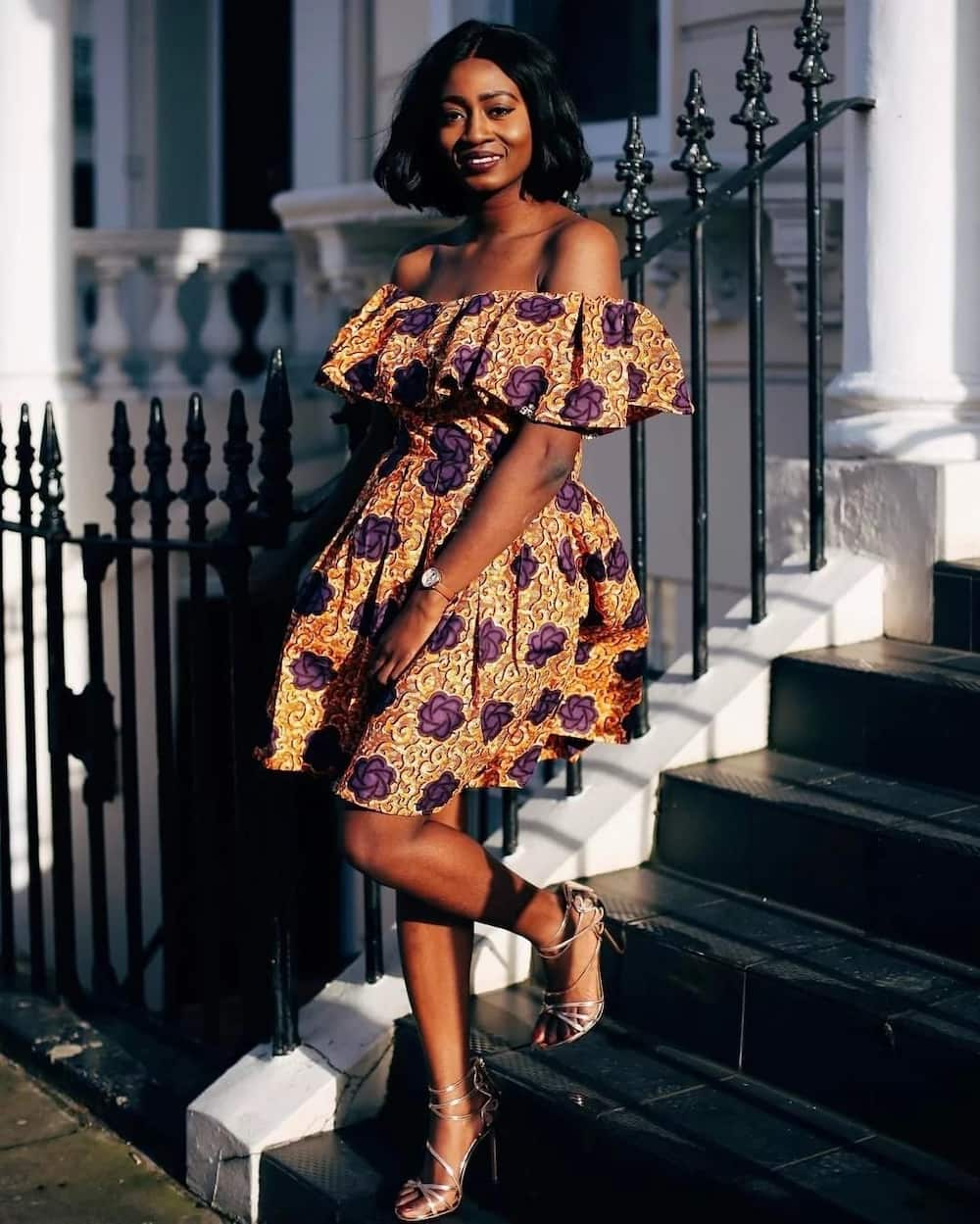 African print styles for graduation