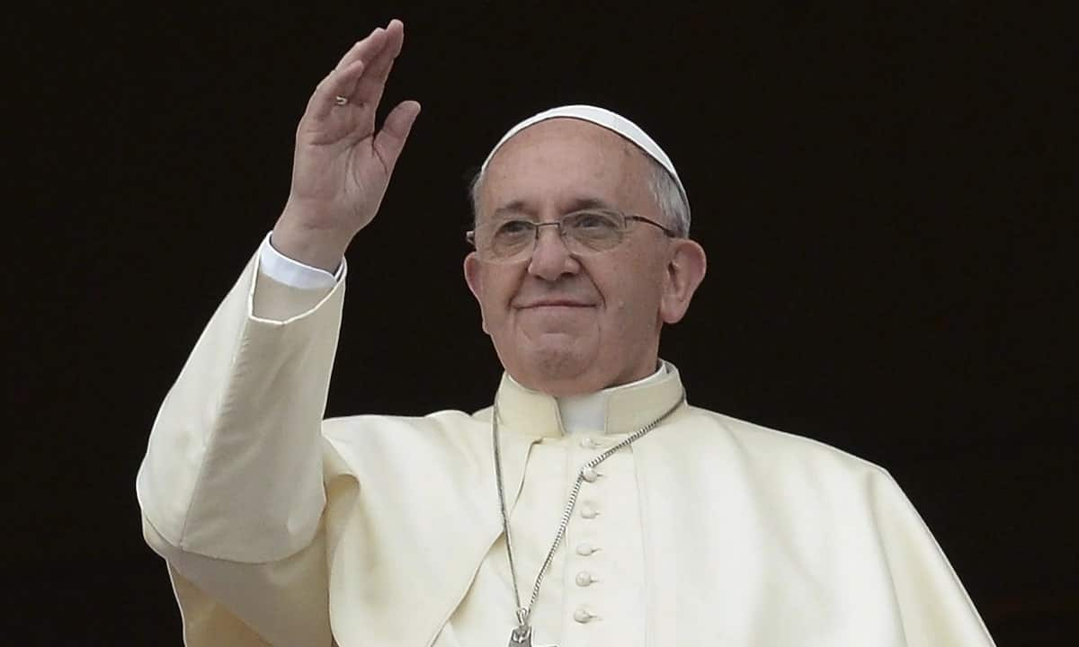Pope Francis proposes changes to Lord's Prayer