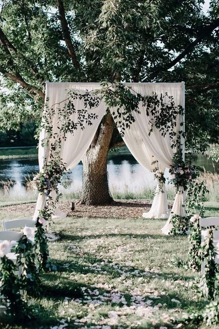Ghanaian wedding decorations ideas, garden wedding ideas