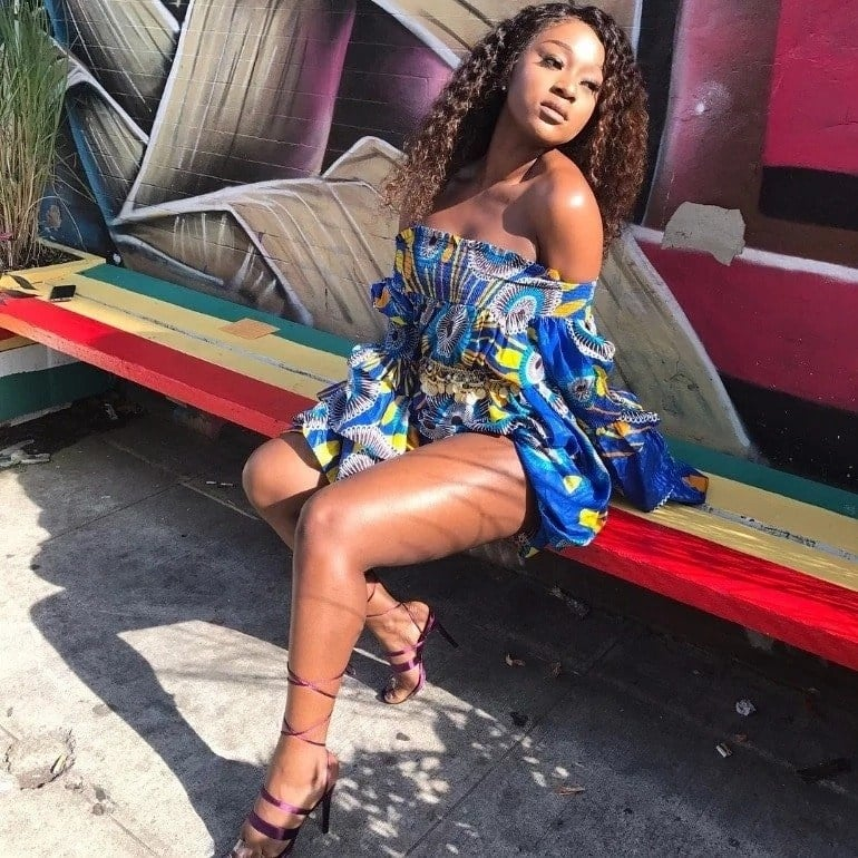 Meet Efia Odo, the lady who was 'caught in bed' with Shatta Wale