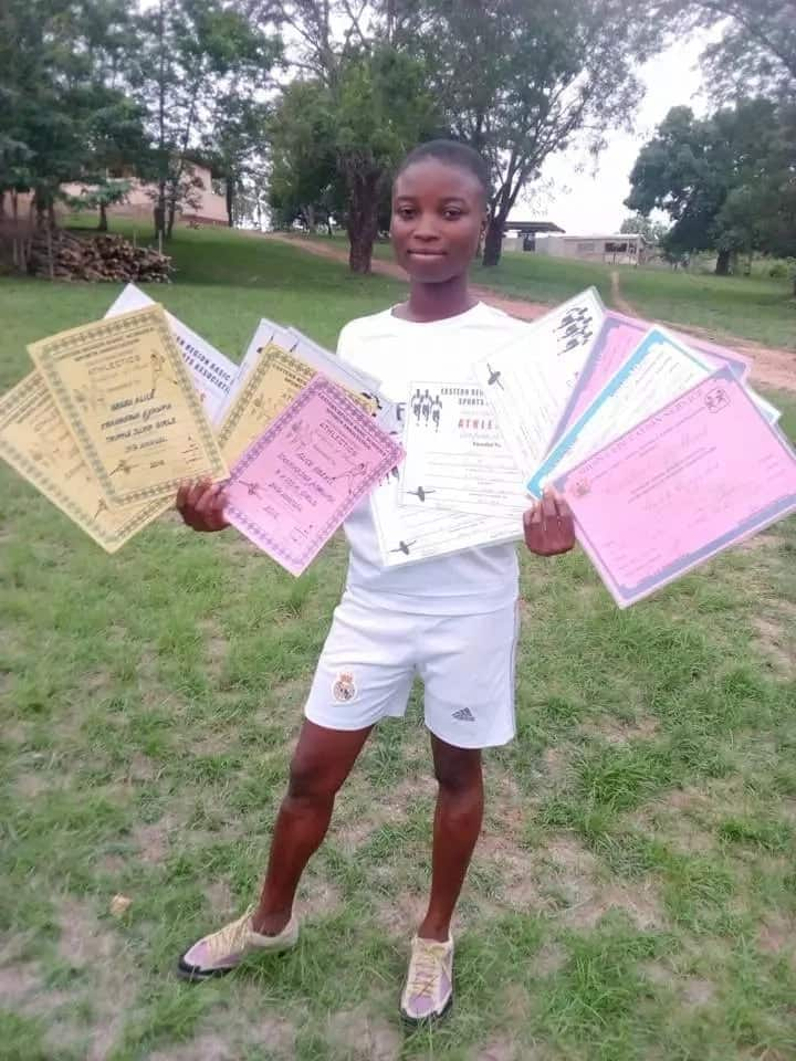 Meet the teenage sprinter breaking all the records at U-15 level in her school