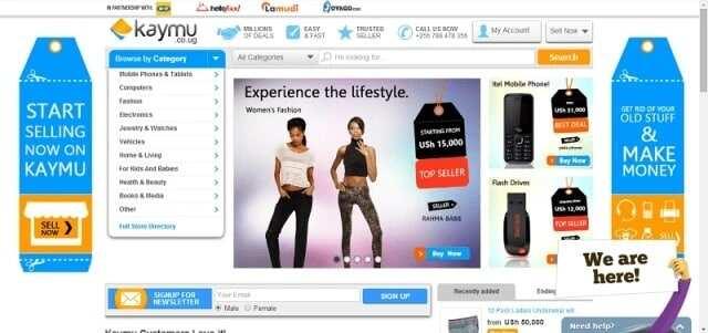 Kaymu online shopping