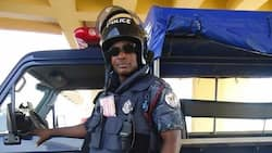 YEN.com.gh has photos of the Inspector who was killed during a robbery attack at the Kwabenya Police Station