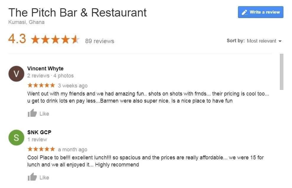 Best Restaurants in Kumasi
