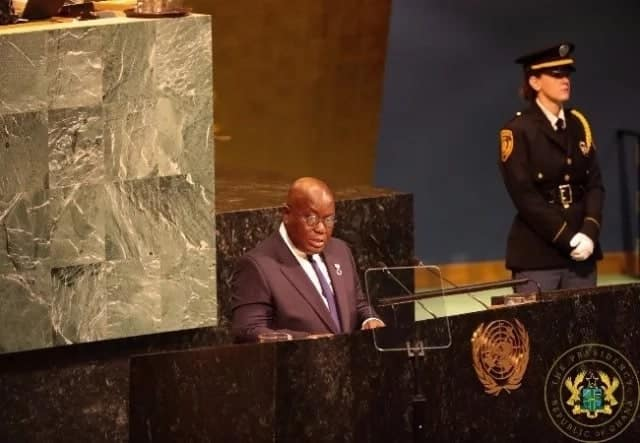 The 6 gospels according to Nana Addo at the crucial UN general meeting