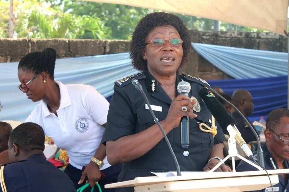 Ghana's first female COP Bio-Atinga retires